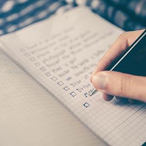 musicians checklist